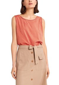 comma casual identity - Blouse - rot - 0