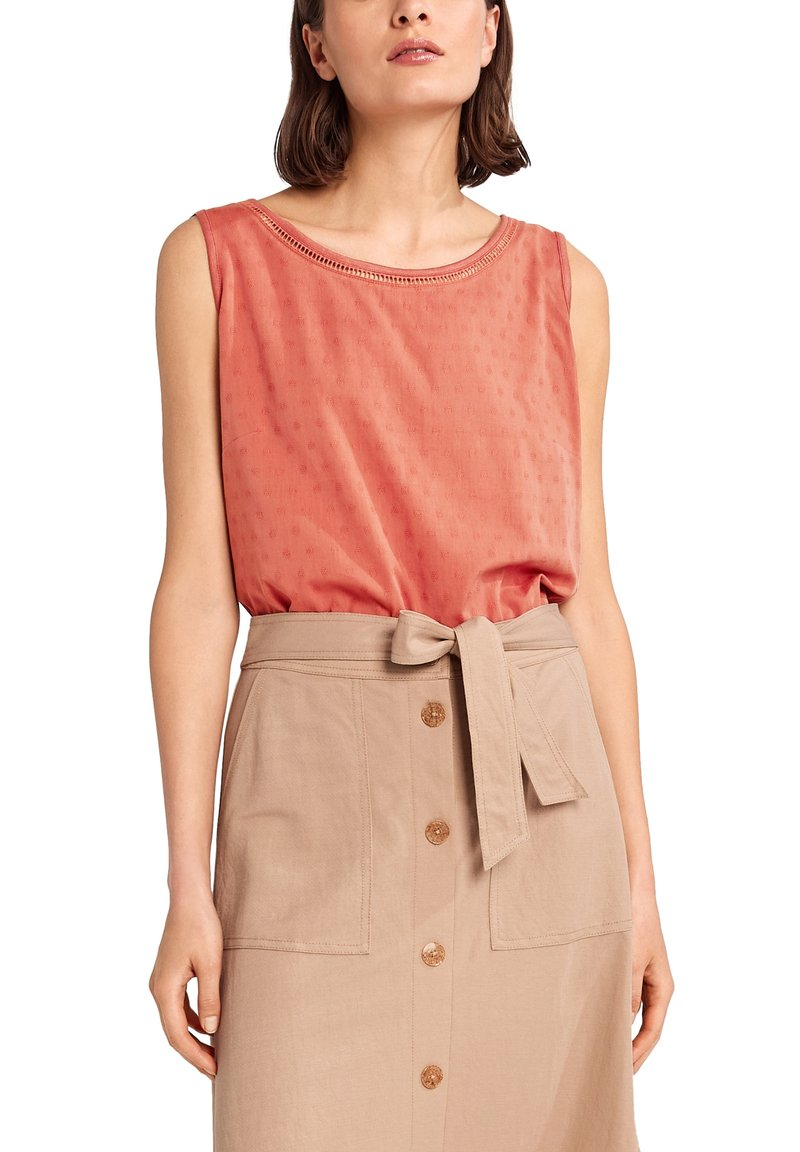 comma casual identity - Blouse - rot