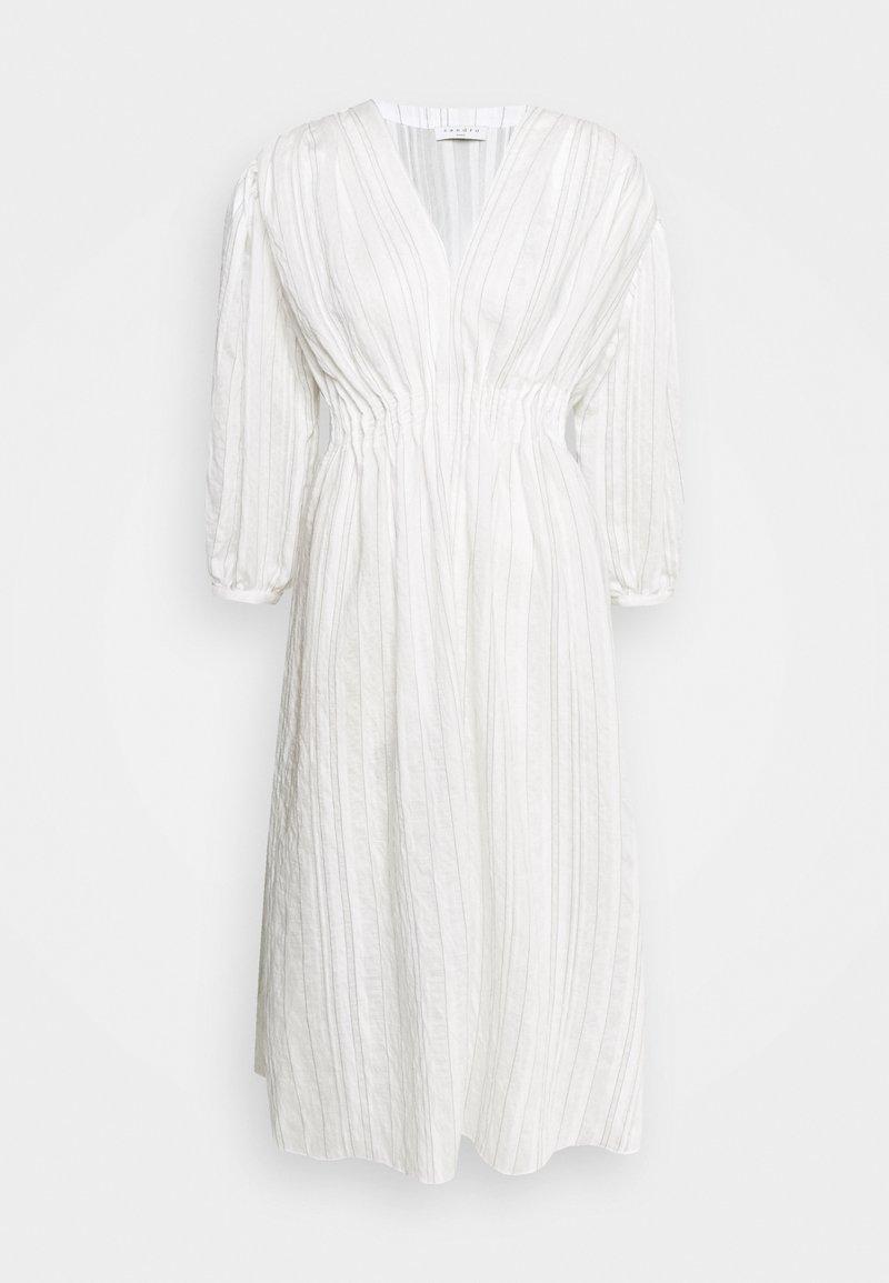 sandro - Denní šaty - ecru