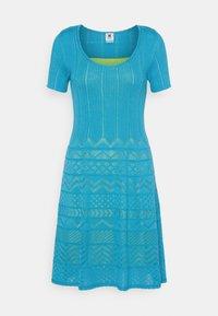 M Missoni - ABITO - Gebreide jurk - mottled teal - 0