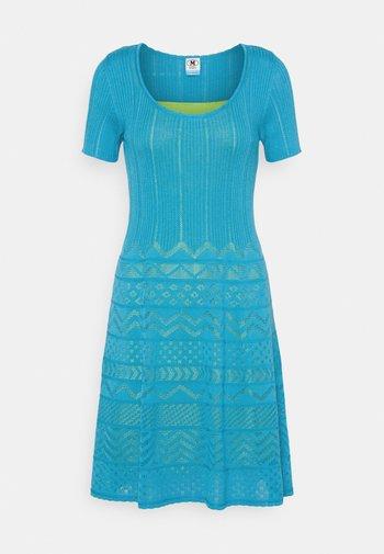 ABITO - Jumper dress - mottled teal