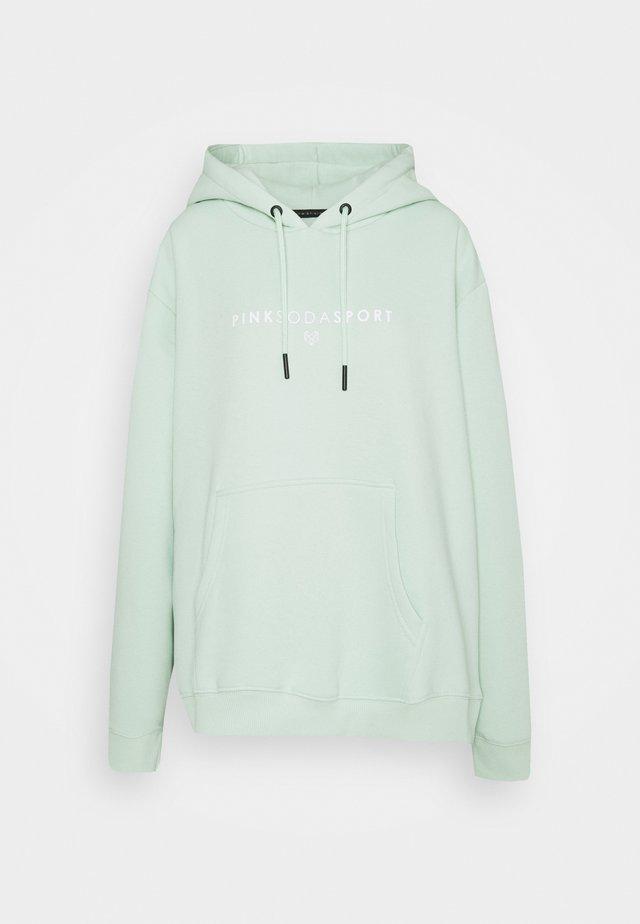 LYON HOODIE PLUS - Sweatshirt - green
