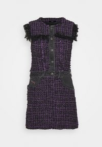 Diesel - D-OLGA - Day dress - black/purple - 0