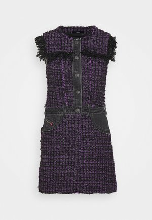 D-OLGA - Day dress - black/purple