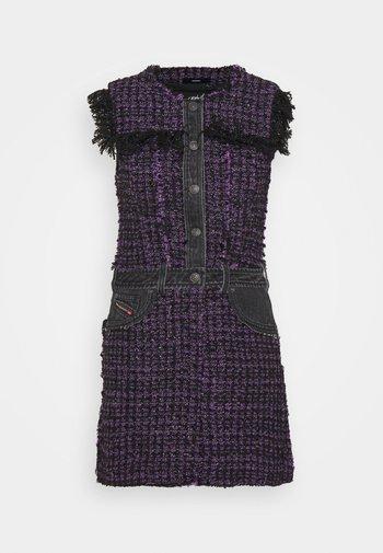 D-OLGA - Day dress - black/purple