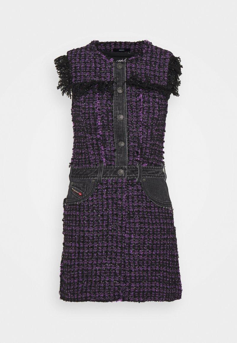 Diesel - D-OLGA - Day dress - black/purple