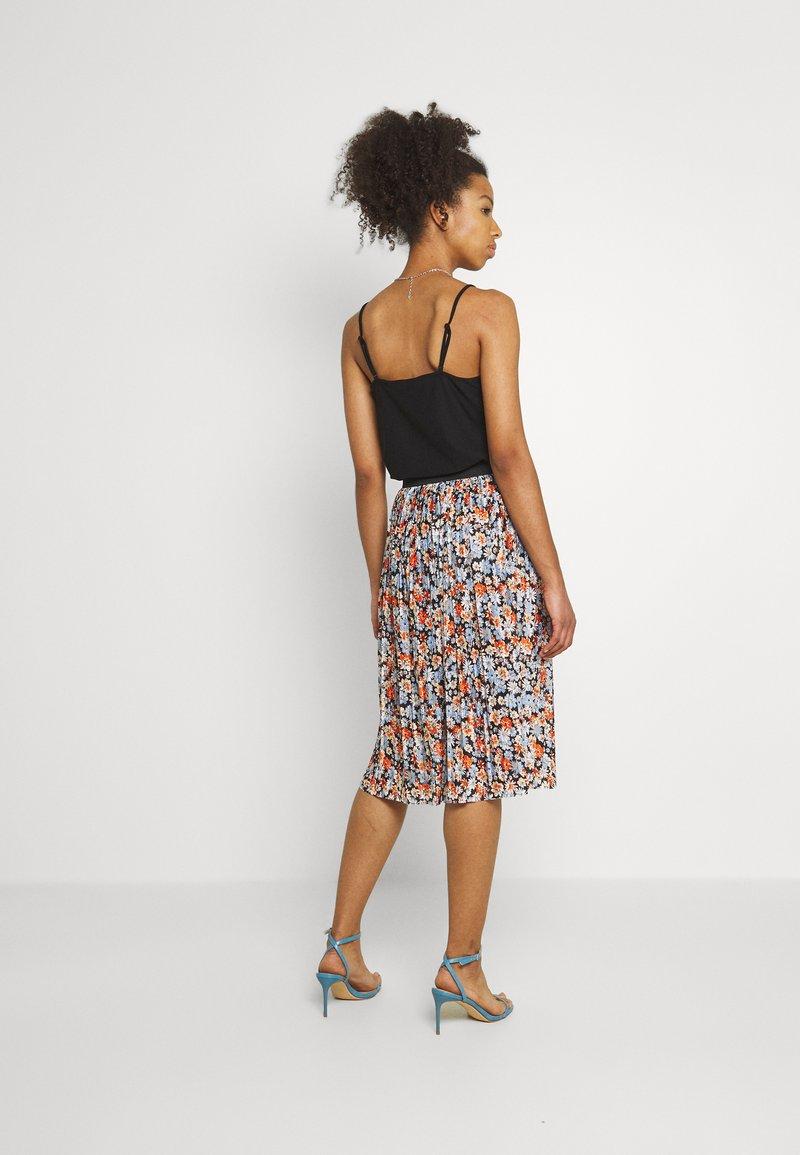 JDY - JDYBOA SKIRT - A-line skirt - black/light blue