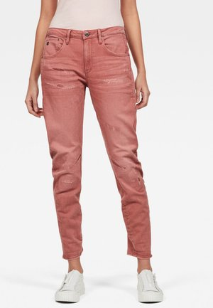 ARC 3D LOW BOYFRIEND EARTHTRACE RESTORED - Straight leg jeans - pink