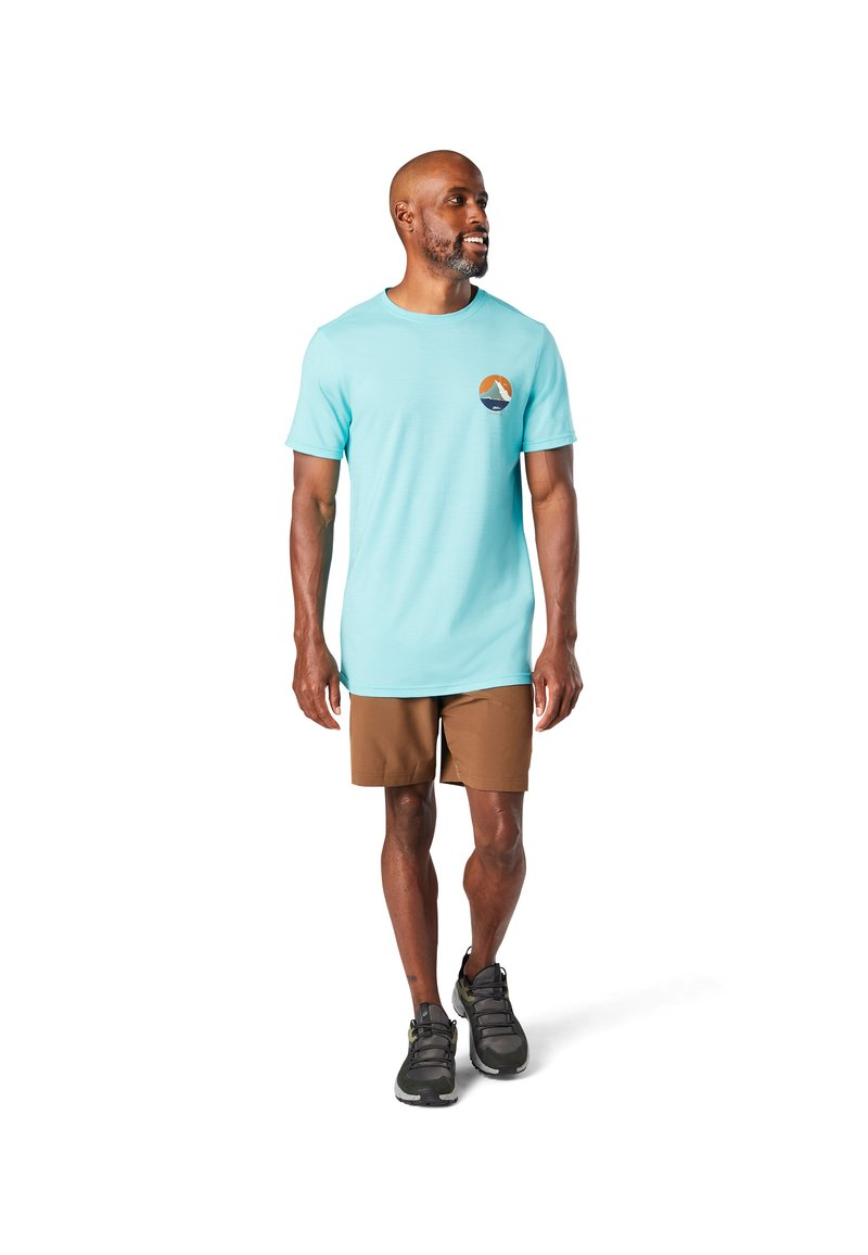 Smartwool - T-shirt print - iceberg blue