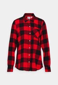 DRAPEY PLAID  - Skjorte - red