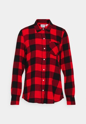 DRAPEY PLAID  - Skjorte - red