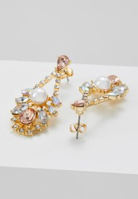 Pieces - DROP EARRINGS - Earrings - gold-coloured/blush - 2