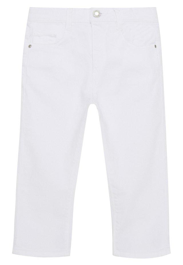 Vaqueros pitillo - white