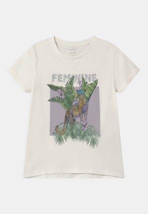 NKFDINARA  - T-shirt print - white