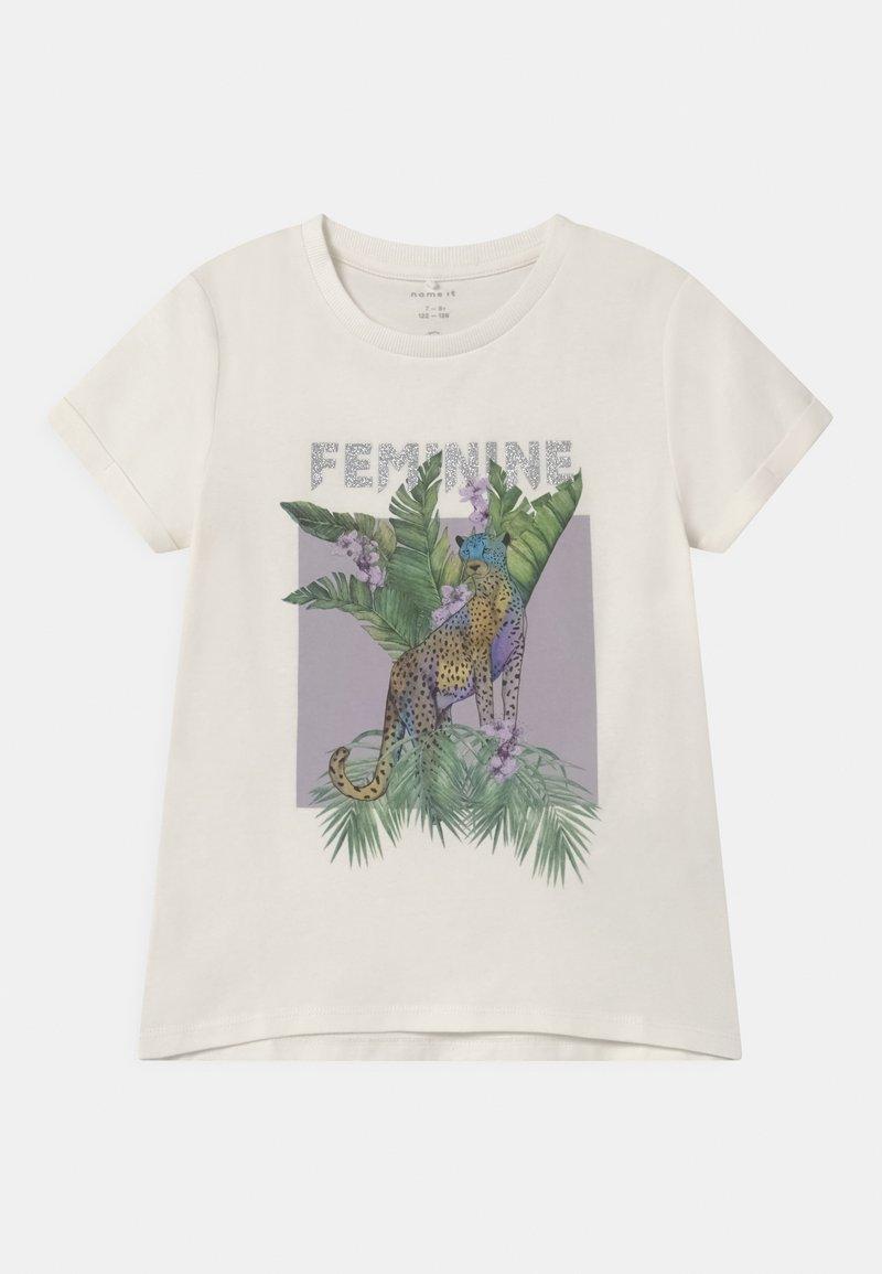 Name it - NKFDINARA  - Print T-shirt - white