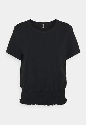 ONLDREA LIFE SMOCK  - Print T-shirt - black