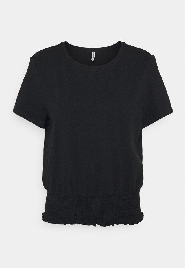 ONLDREA LIFE SMOCK  - T-shirt print - black