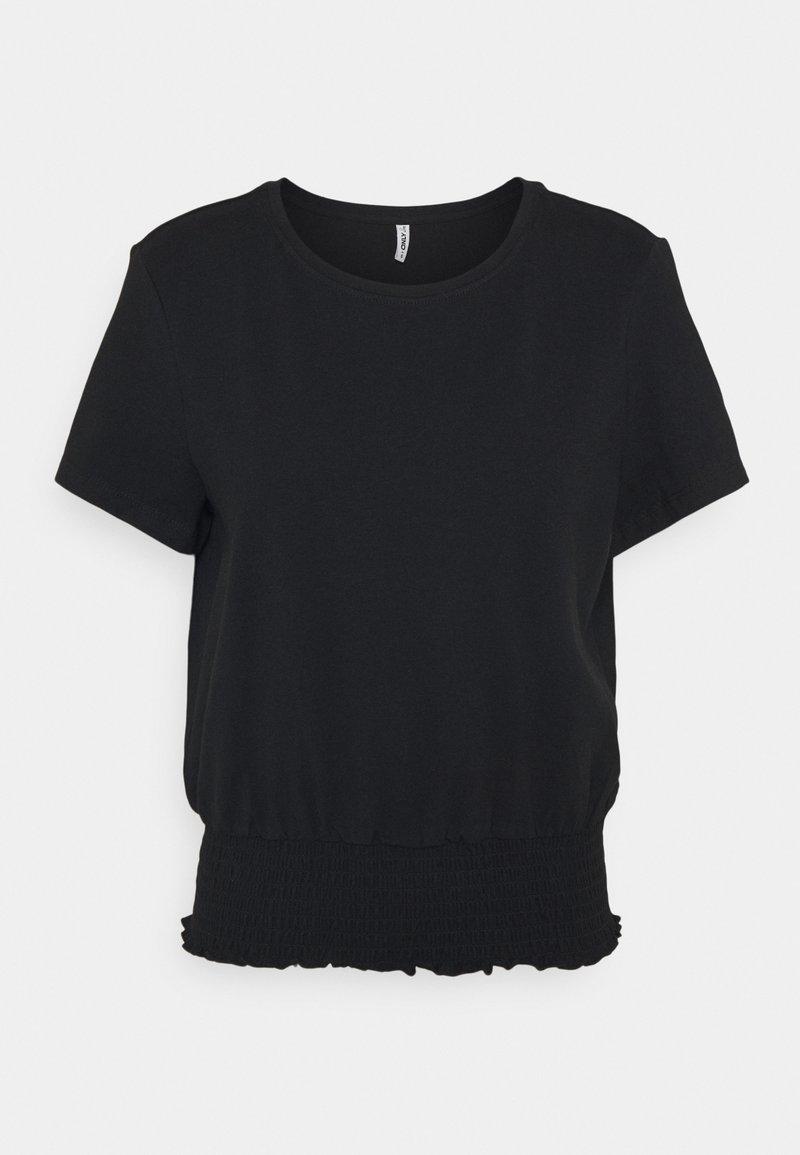 ONLY - ONLDREA LIFE SMOCK  - Print T-shirt - black