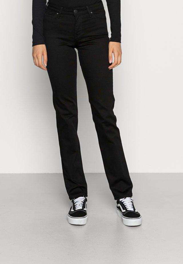 MARION STRAIGHT - Straight leg jeans - black rinse