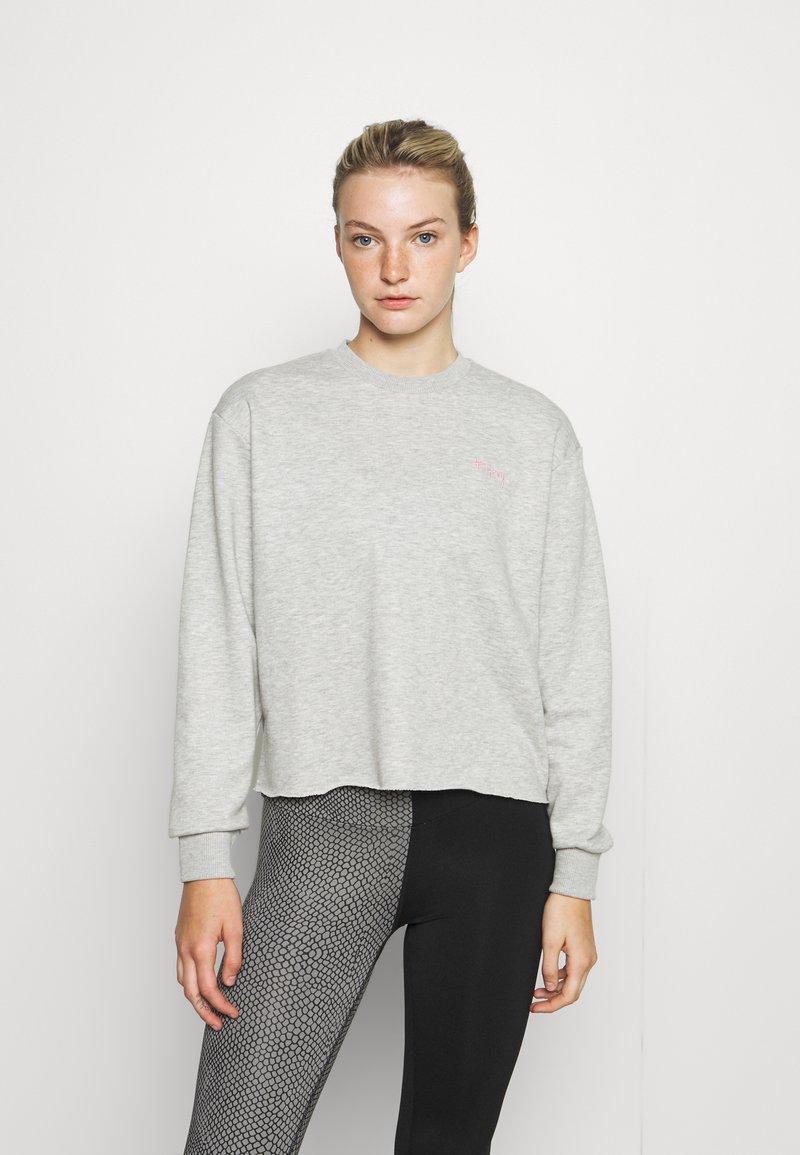Hey Honey - CROPPED - Sweatshirt - grey