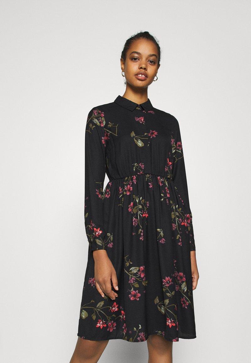 Vero Moda - VMGALLIE DRESS - Shirt dress - black