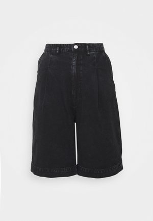 NANETTE  - Denim shorts - black dark asia
