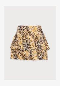 OBJMANILLA SHORT SKIRT - Mini skirt - sandshell