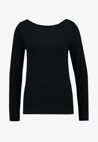 GAP - BOAT - T-shirt à manches longues - true black