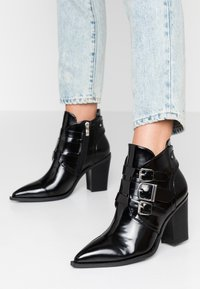 co wren - High heeled ankle boots - black - 0