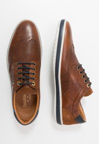 Pantofola d'Oro - MILAZZO UOMO LOW - Chaussures à lacets - tortoise shell - 1