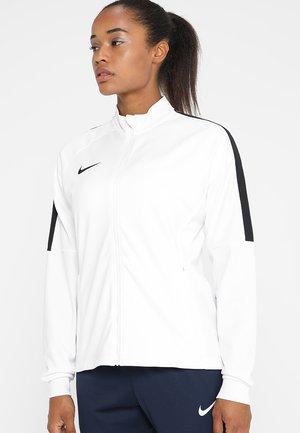 DRY ACADEMY 18 - Sportovní bunda - white