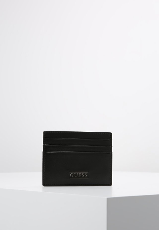 NEW BOSTON CARD CASE - Lompakko - black