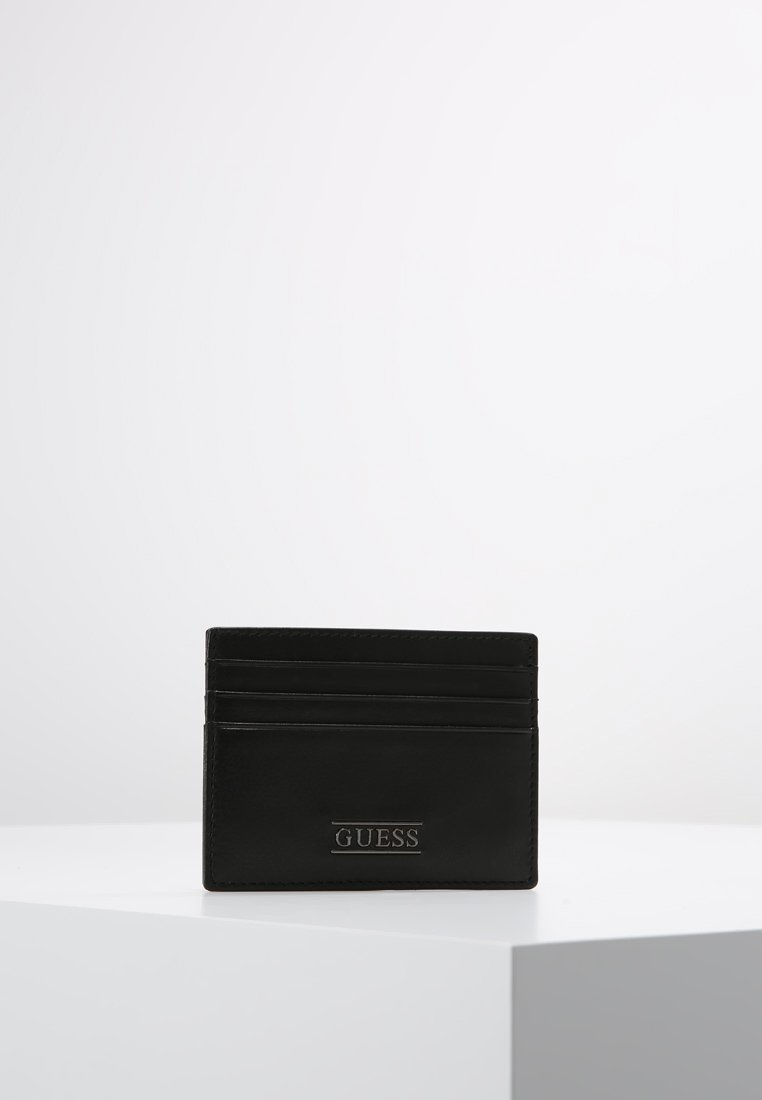 Guess - NEW BOSTON CARD CASE - Lommebok - black