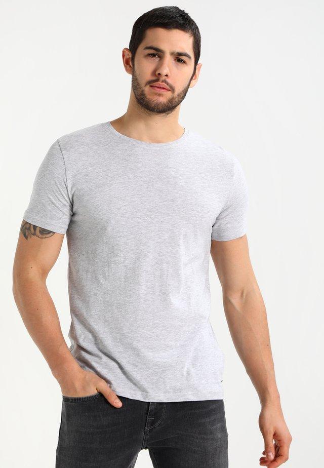 BASIL - Jednoduché triko - grey