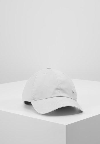UNISEX - Cap - light bone/metallic silver
