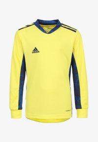yellow/navy blue