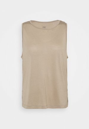 DRAPY MUSCLE TANK - Top - comfort grey