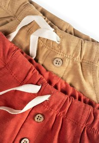 Cigit - POCKET BUTTONED  PACK OF 2 - Tracksuit bottoms - red - 2