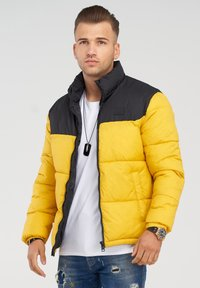 Jack & Jones - MIT - Winter jacket - yolk yellow