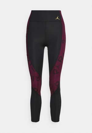 PSG 7/8  - Leggings - Trousers - black/metallic gold
