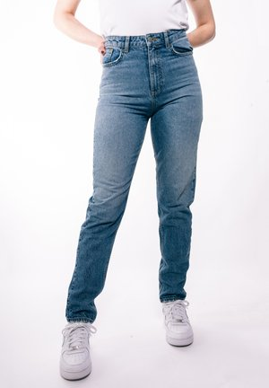 Relaxed fit jeans - midbluedenim
