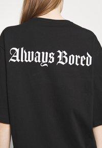 YOURTURN - UNISEX - T-shirt imprimé - black - 4