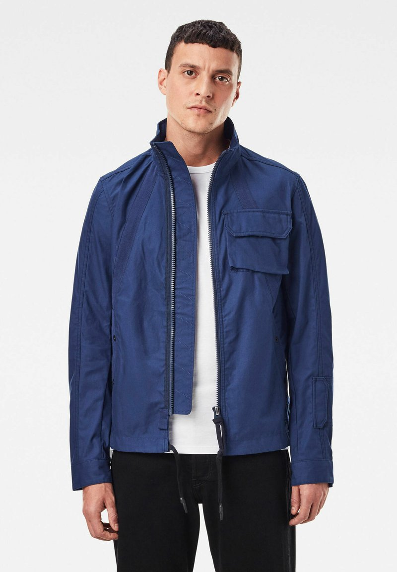 G-Star - UTILITY BOYFRIEND HB TAPE - Summer jacket - imperial blue