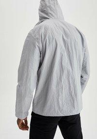 DeFacto - Waterproof jacket - grey - 2