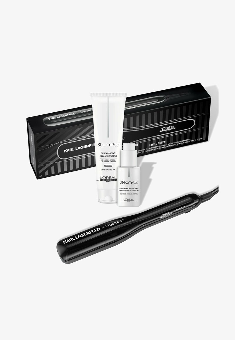 L'OREAL PROFESSIONNEL - LIMITED EDITION: STEAMPOD STYLER 3.0 XKARL LAGERFELD - SET FOR EVERY HAIR TYPE - Hair set - -