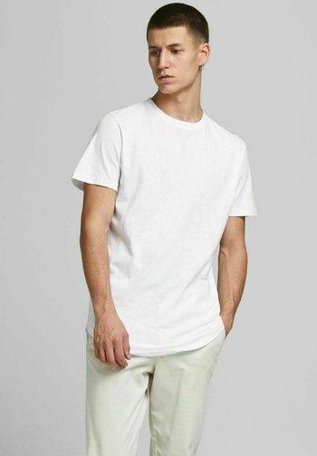 3ER-PACK  - T-shirt - bas - white