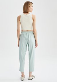 DeFacto - Tracksuit bottoms - turquoise - 2