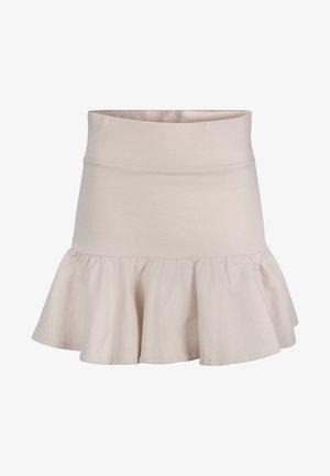 GINGER - A-snit nederdel/ A-formede nederdele - beige