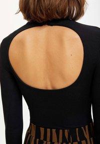 DeFacto - Long sleeved top - black - 4