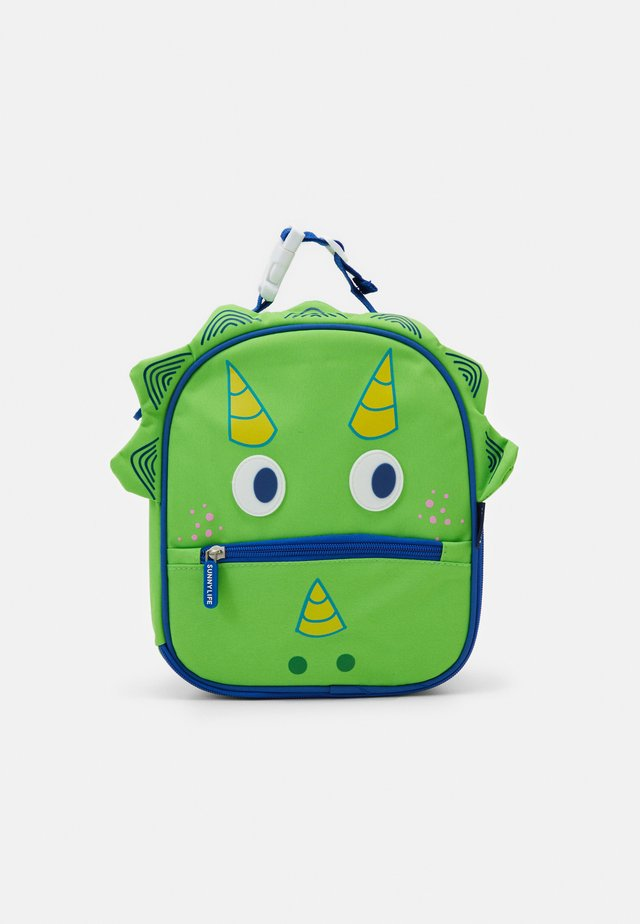 DINO KIDS LUNCH BAG - Śniadaniówka - green
